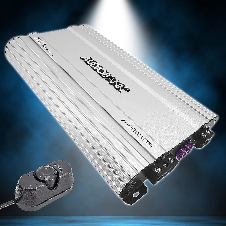 Audiobank Monoblock 7000 WATTS Amp Class D 1OHM Car Audio Stereo Amplifier P7001