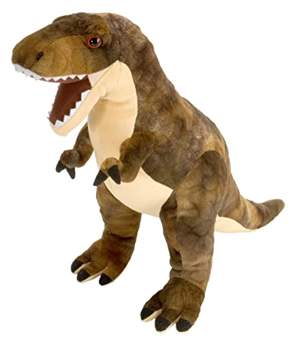 Amazon Com Wild Republic T Rex Plush Dinosaur Stuffed Animal