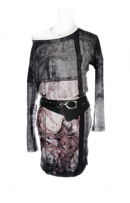 S.I.S Women's Bodycon Dress Grey Grey