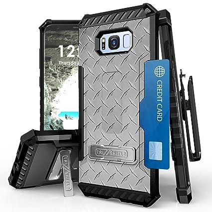 Amazon.com: Galaxy S8 Caso, trishield Durable Rugged Heavy ...