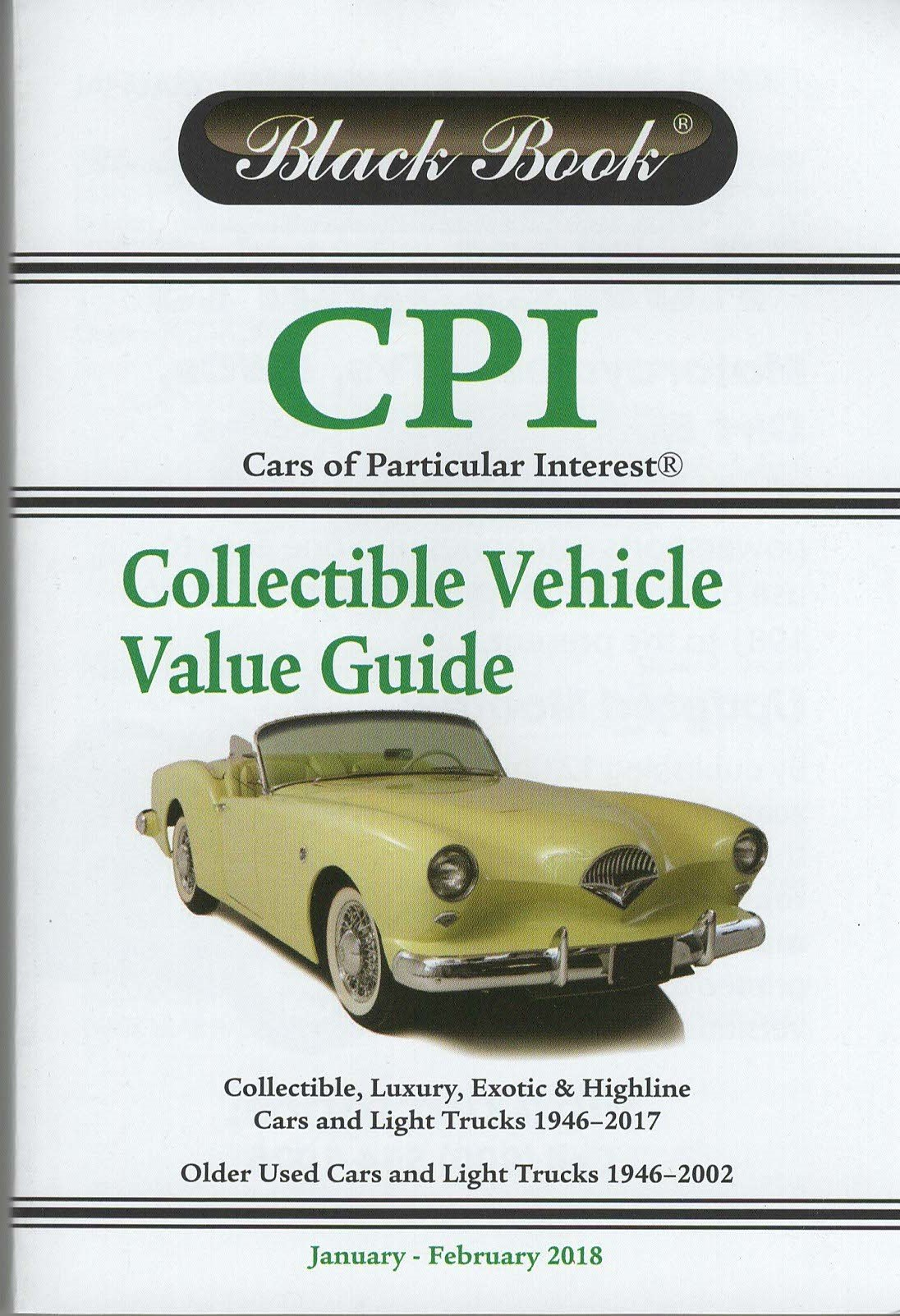 Black Book ® CPI Car\'s of Particular Interest: January - February ...