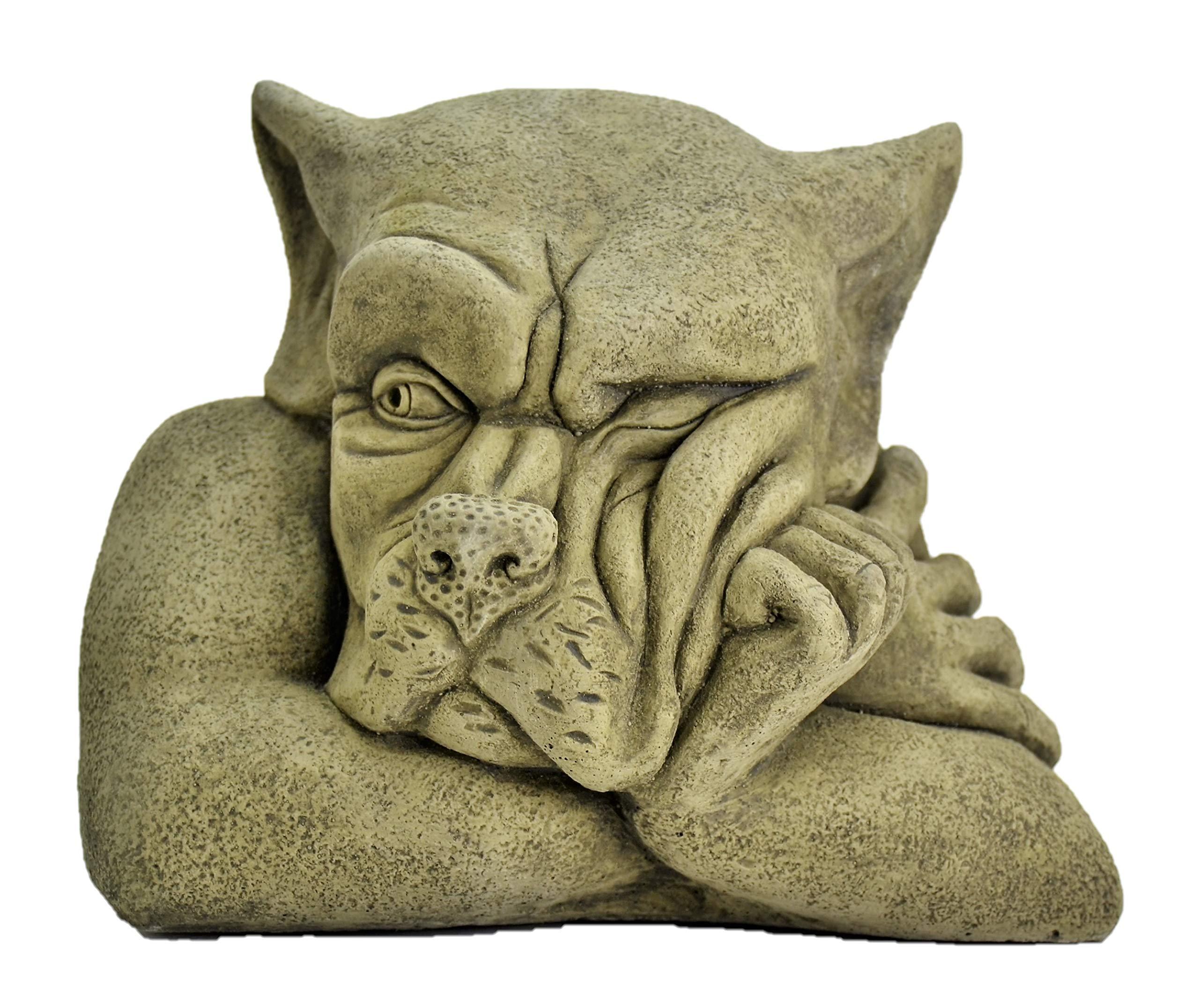 DSL Bert-Garden Ornament-Gargoyle-Sculpture Stone Statue-Home Patio-Decorative Gift