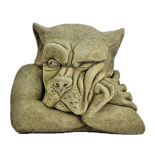 Bert Garden Ornament Gargoyle Sculpture Stone Statue Home Patio Decorative  Gift