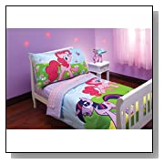 Hasbro My Little Pony 4 Piece Toddler Bedding Set