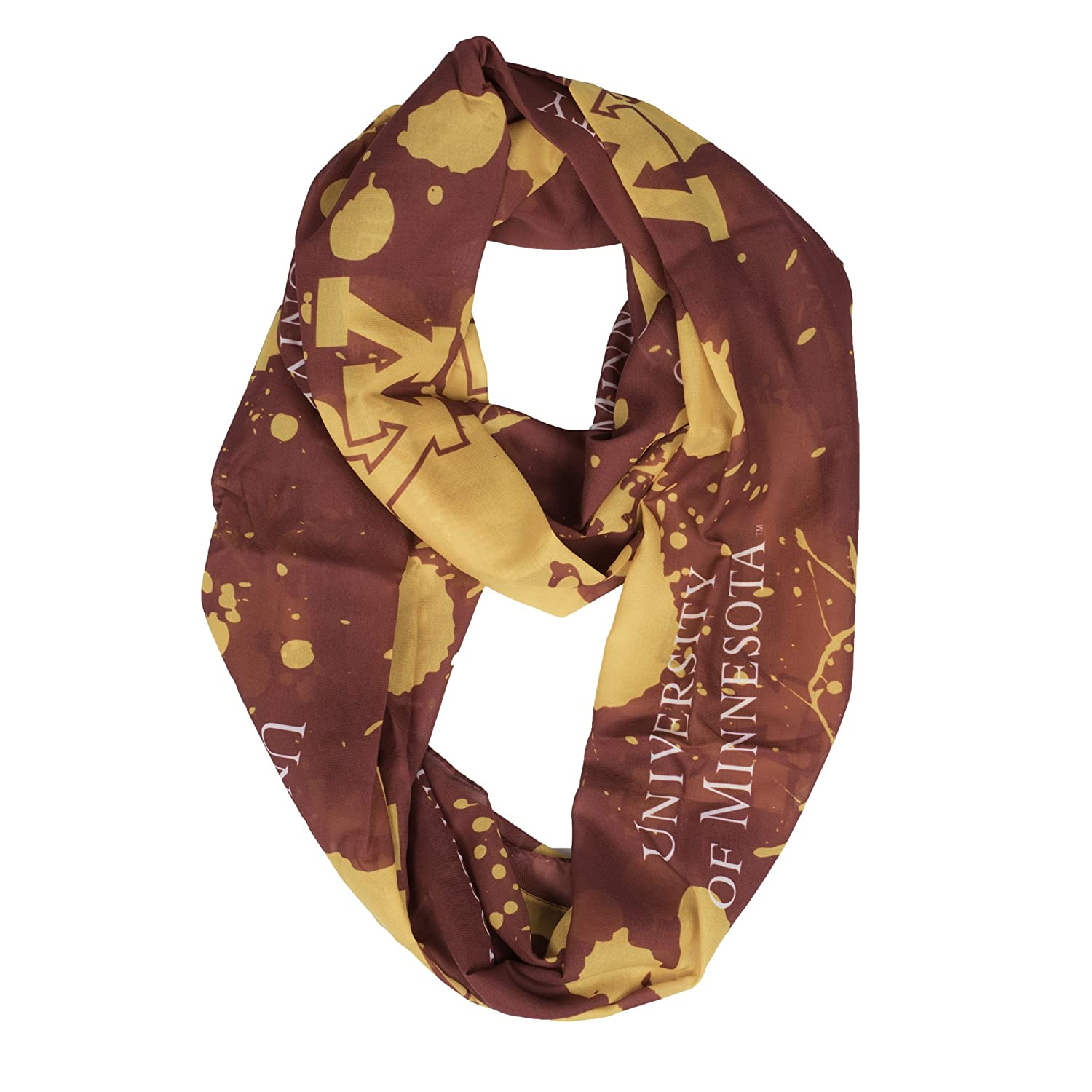 NCAA Silky Infinity Scarf Spatter