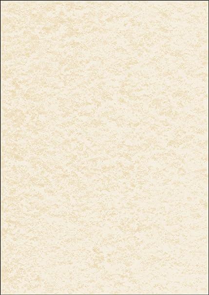 SIGEL DP605 Papel de cartas, 21 x 29,7 cm, 90g/m², textura enlucido, beige, 100 hojas