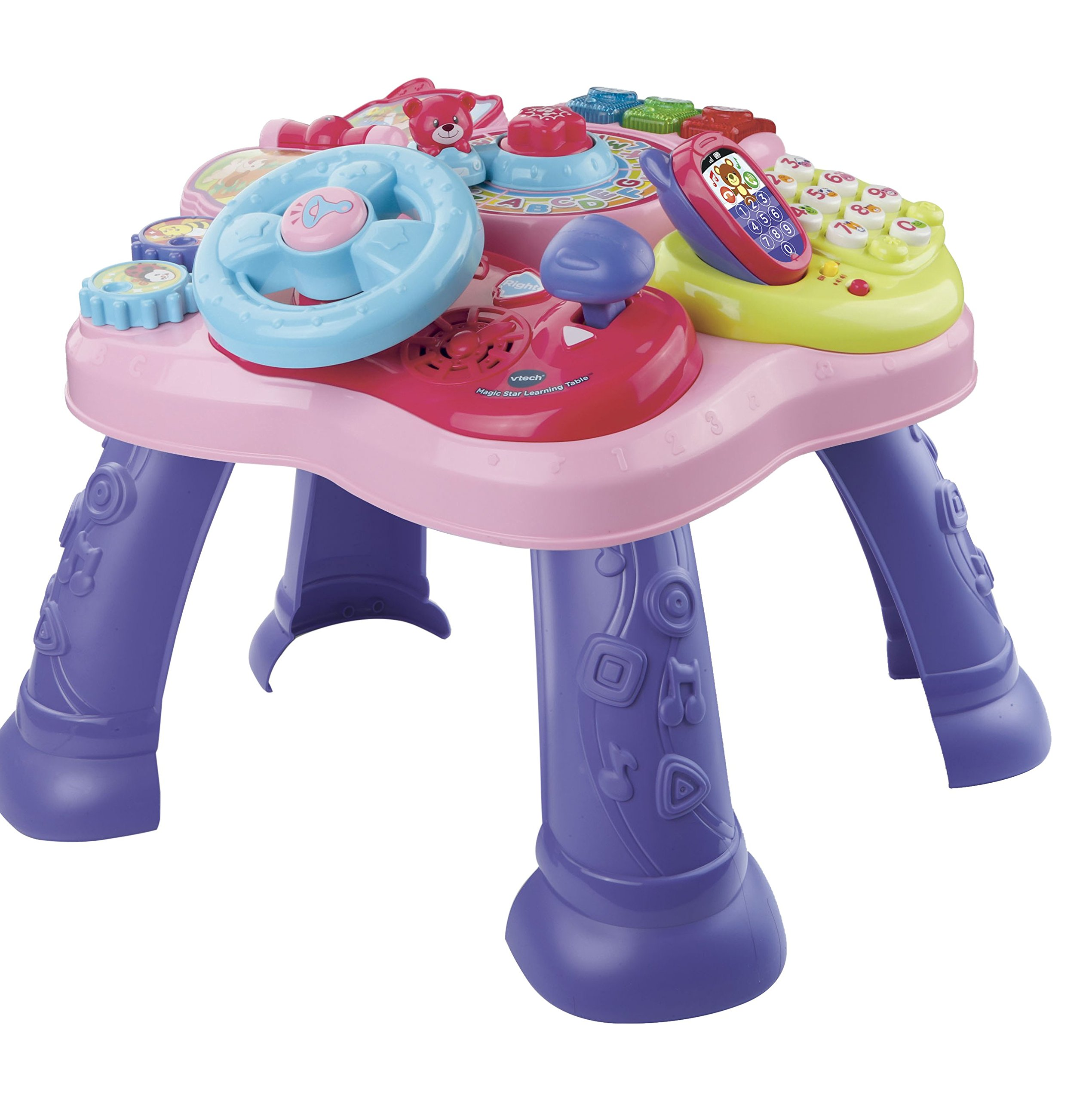 VTech Magic Star Learning Table, Pink (Frustration Free Packaging) by VTech (Image #1)