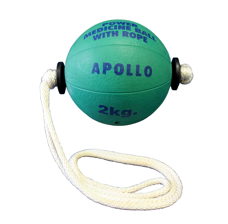 Ader de cuerda balón medicinal, 2KG (4.4LB): Amazon.es: Deportes y ...