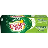 Canada Dry Ginger Ale, 12 fl oz cans, 12 count