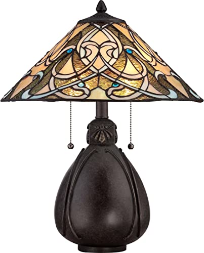Quoizel TF1846TIB India Tiffany Table Lamp