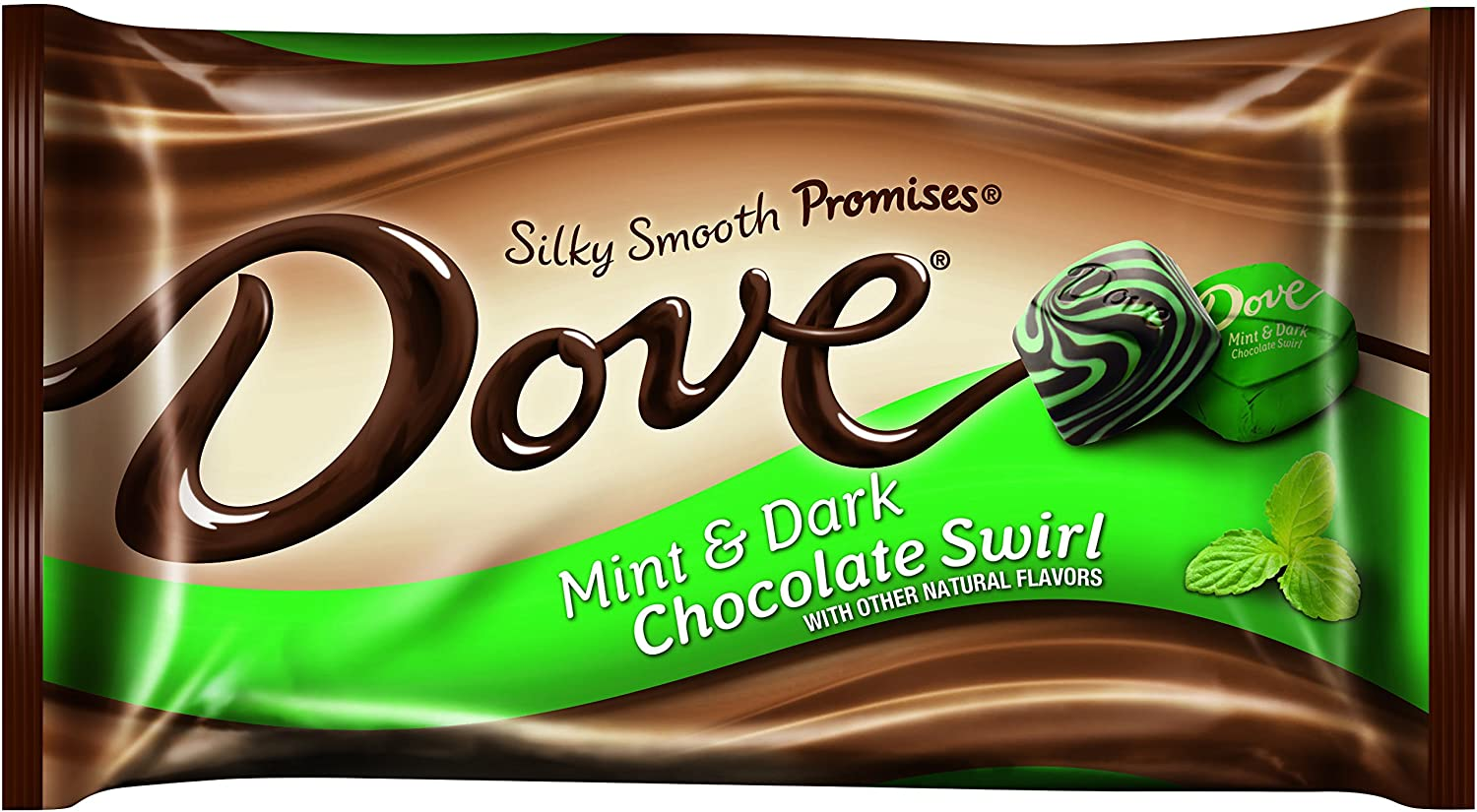 Dove Dark Chocolate Mint Swirl Promises Bag, 8.5 Ounce