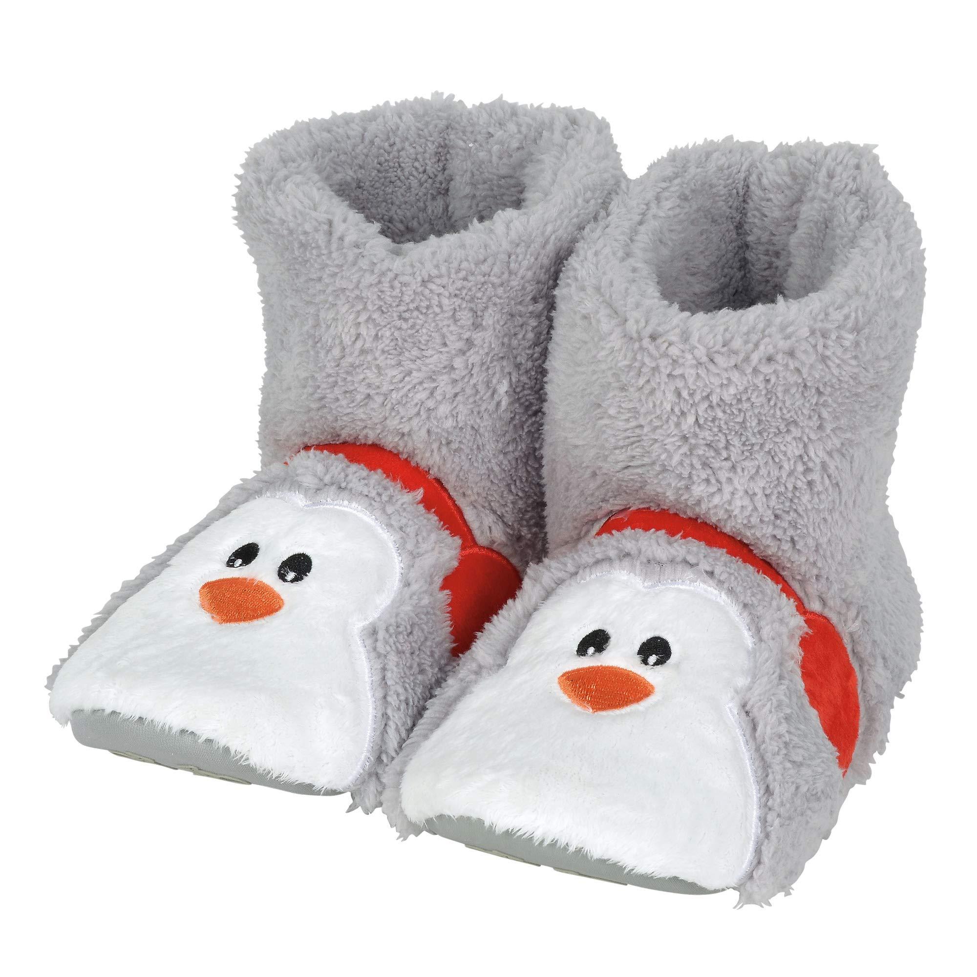 "Department 56 Snowpinions ""Penguin Slippers Small (Kid), Child Size 7-8, Multicolor"