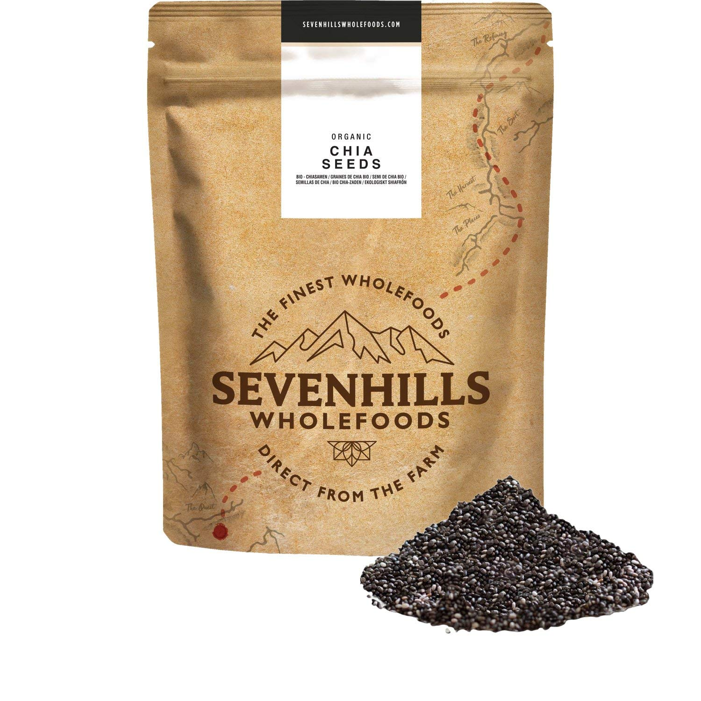 Sevenhills Wholefoods Organic Chia Seeds 1kg