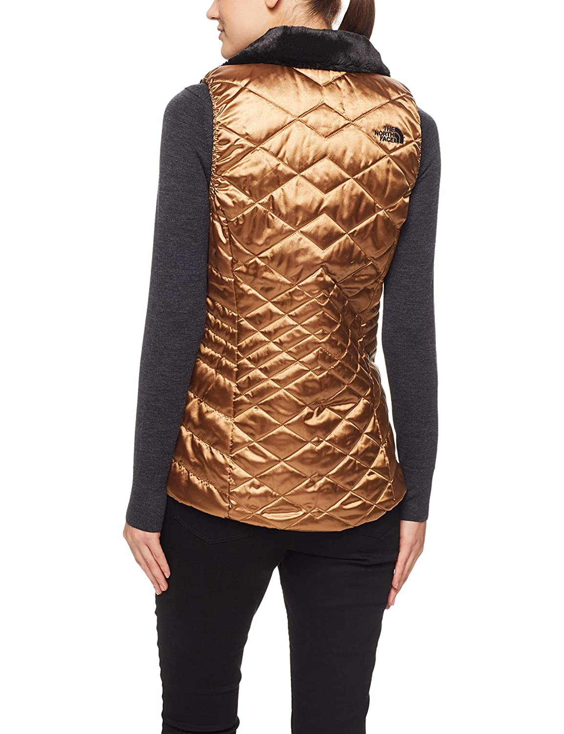 dbf4df088395 The North Face Women s Mossbud Insulated Reversible Vest at Amazon Women s  Clothing store