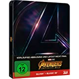 Avengers: Infinity War Steelbook - 3D + 2D + Bonusdisc (2018) [Blu-ray]