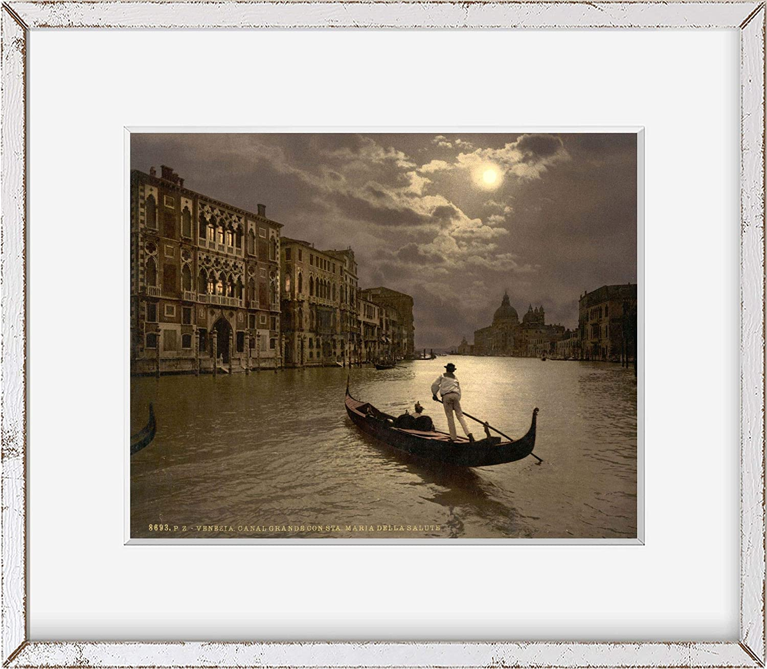 Italy 1890s photochrom also called the Ac process Venice Grand ...