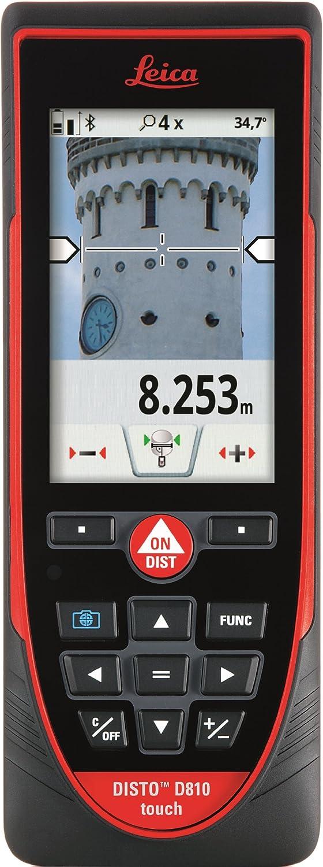 Leica Disto S910984Ft Medidor de distancia láser, punto a punto de medición, rojo/negro