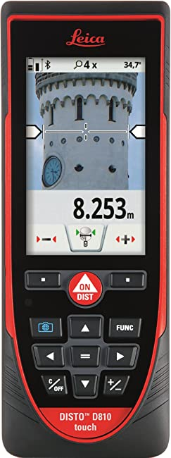 Best Leica laser distance measurer for builders: Leica DISTO D810 Review