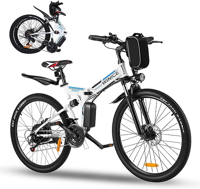 Vivi Bicicleta eléctrica Plegable de 26
