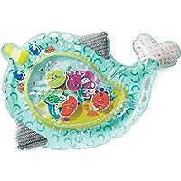 Infantino Wee Wild Ones Pat & Play - Alfombrilla de agua con temática de narval para niños y bebés mayores, para el…