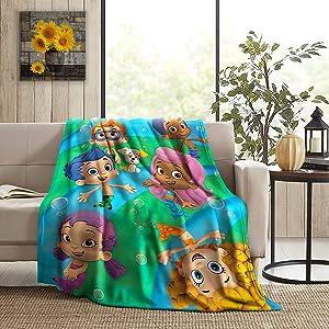 Sadie Mae Fleece Blanket Ultra Soft Micro Decorative Bedspread Summer Throw Warm Flannel Blankets Lightweight Microfiber All Season for Children Kids Boys Girls Gift for Bed Sofa Couch 50X40 inch