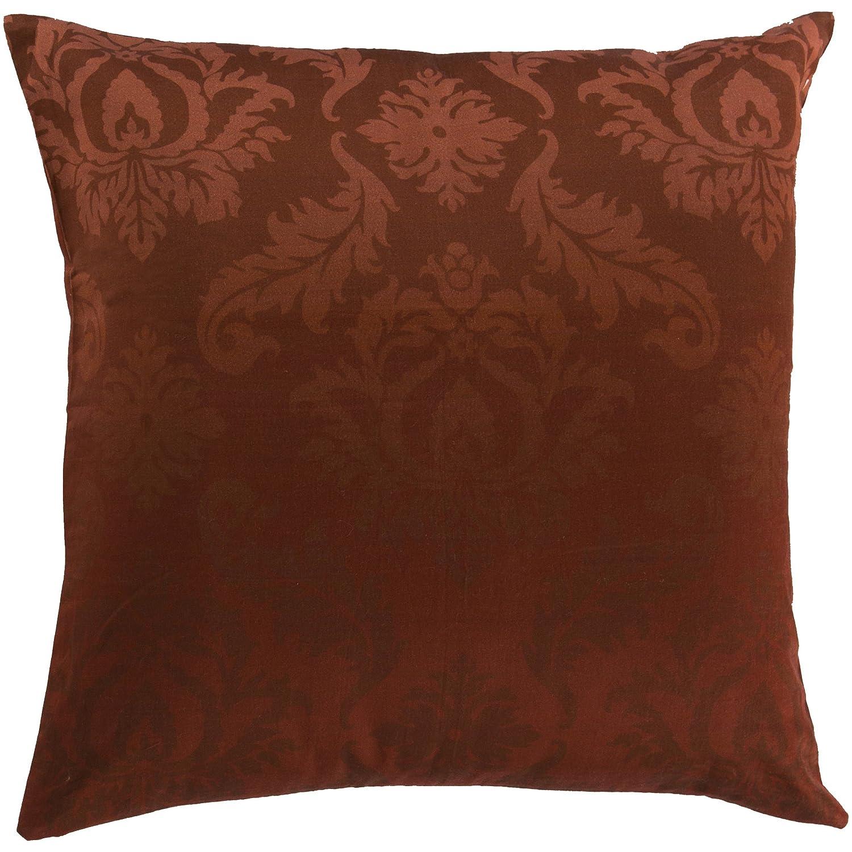 Surya sy014 – 2222d Down Fill枕、22インチby 22インチ、ブルゴーニュ   B00H2KCI2O