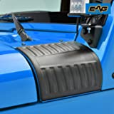 EAG Cowl Body Armor Cowl Guard Fit for 07-18 Jeep