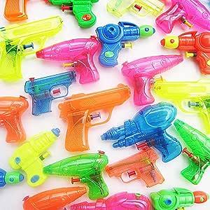 German Trendseller® - 12 x Mega Pistolas de Agua Mezcla┃Party ...