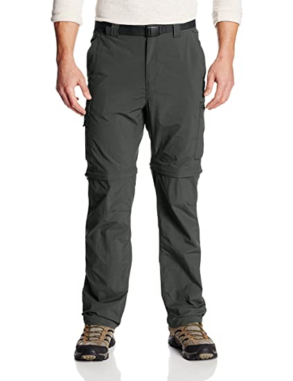 Columbia Men's Silver Ridge Convertible Pant, Gravel, ...