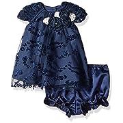 f79c6f106 PIPPA & JULIE Baby Girls' Flower Float Dress, Blue 3-6 Months