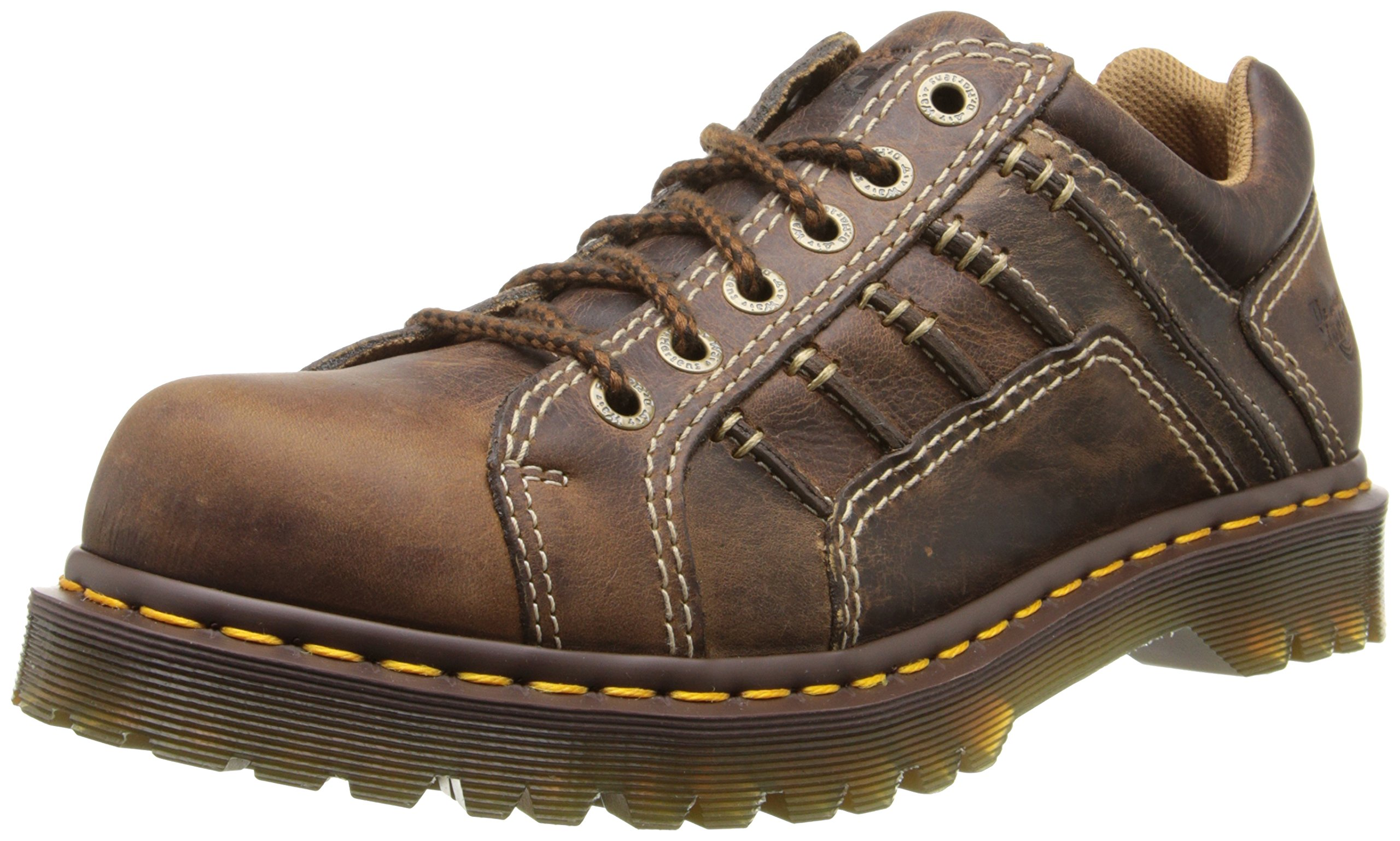 Dr. Martens Men's Keith Shoe,Tan Greenland,7 UK/8 M US by Dr. Martens