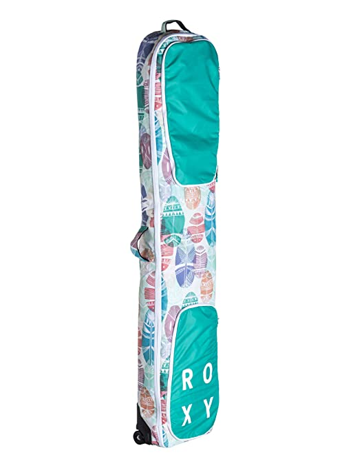 4686f6c2ea74 Roxy Vermont Women s Snowboard Board Bag Case White bwhite feathers  Size 170 x 33 x 10 cm  Amazon.co.uk  Sports   Outdoors
