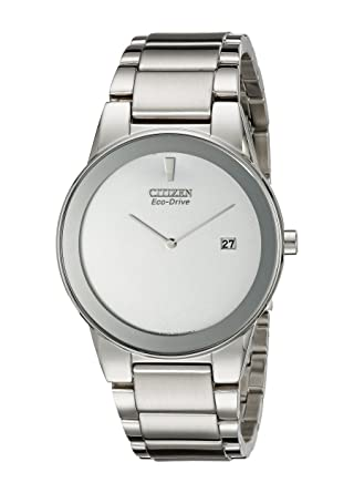 bcaf0d89e3d241 Image Unavailable. Image not available for. Color: Citizen Men's Eco-Drive  Stainless Steel Axiom Watch ...