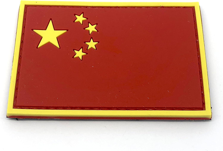Parche de Paintball de la Bandera China Airsoft PVC Morale: Amazon.es: Deportes y aire libre