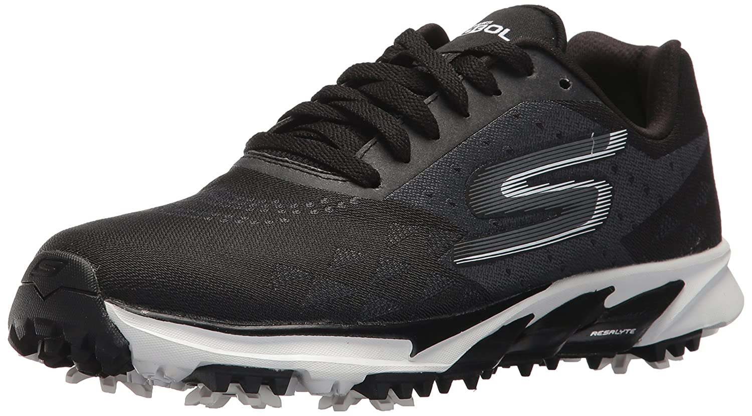 Skechers Women's Go Golf Blade 2 Walking Shoe B06XWHCJMY 6.5 M US|Black/White