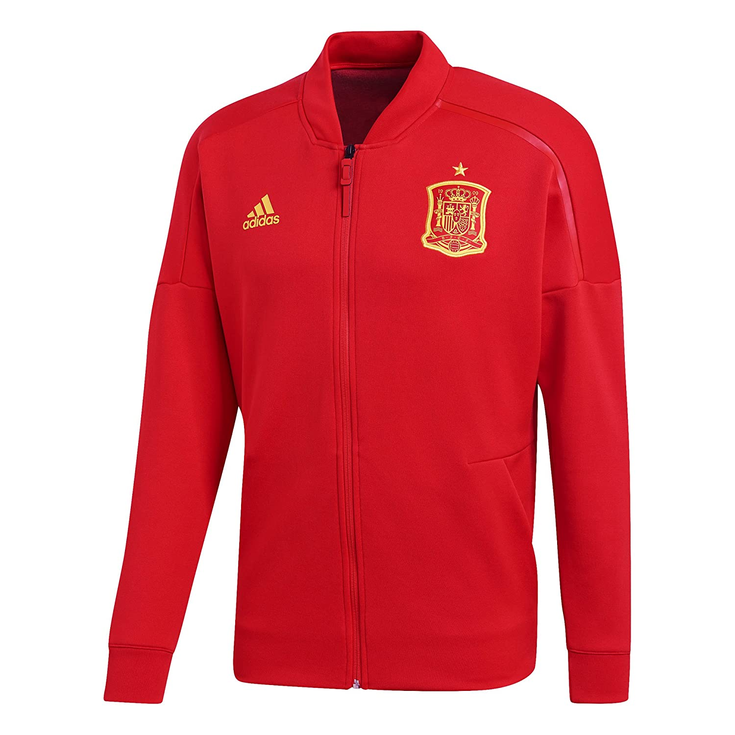 2018-2019 Spain Adidas ZNE Knitted Anthem Jacket (Red) B07BHPV6H4Red XL 44-46\