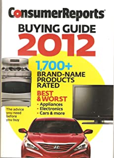 consumer reports buying guide 2010 best worst appliances cars rh amazon com consumer reports buyers guide 2016 consumer reports buyers guide 2018