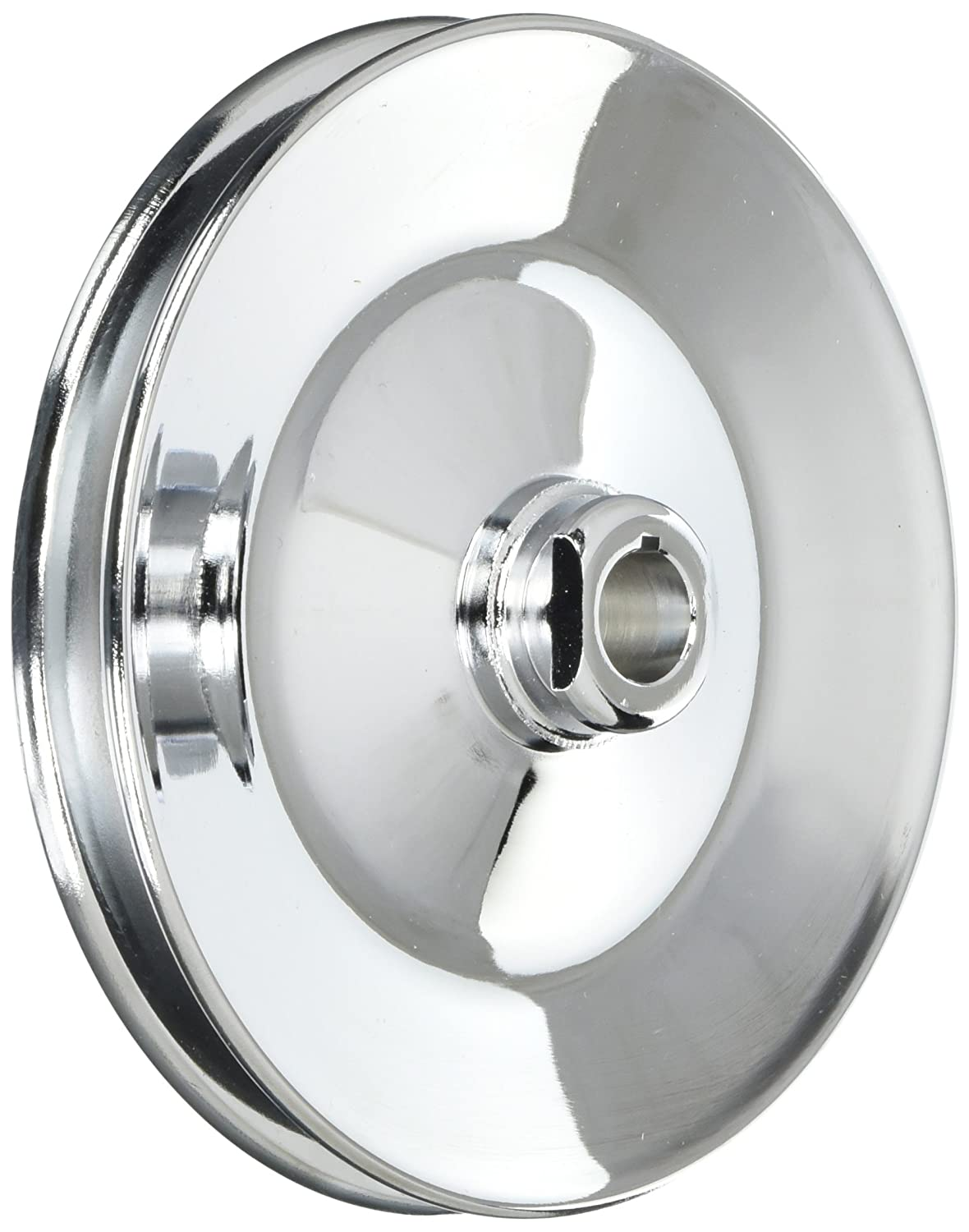 Racing Power Company R8948 Chrome Power Steering Pulley