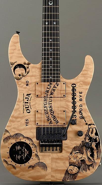 ESP Kirk Hammett Ouija Natural Custom Limited Edition - Guitarra ...