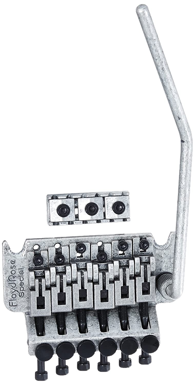 Floyd Rose Special Series Tremolo Bridge W R2as Nut Antique Silver Diagram Musical Instruments Stage Studio