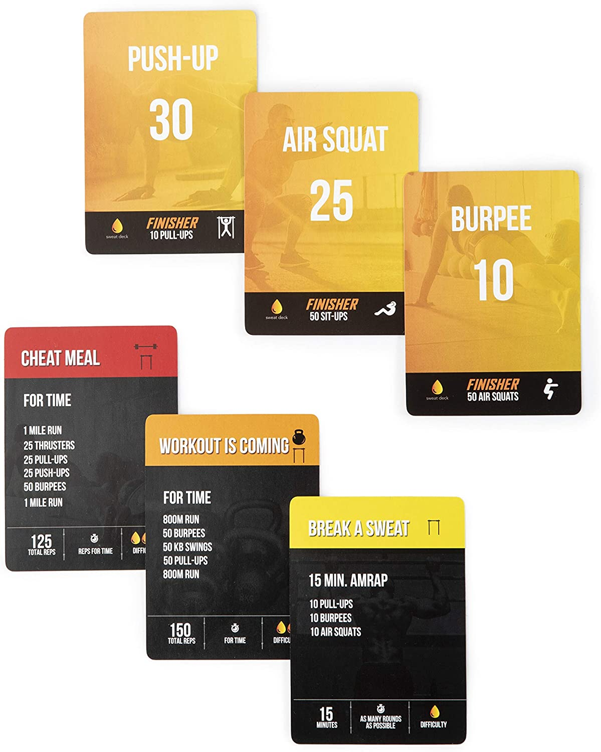 Sweat Deck Exercise Cards