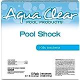 Aqua Clear 50006ACL Products Pool Shock, (6 1-lb Bags)
