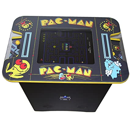 Pacman Table Game >> Two Player Table Arcade Machine Pacman Theme Amazon Co Uk
