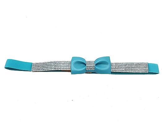 9fbc6d28c076 Piccoli Monelli - Ceinture - Femme Turquoise turquoise 110  Amazon ...