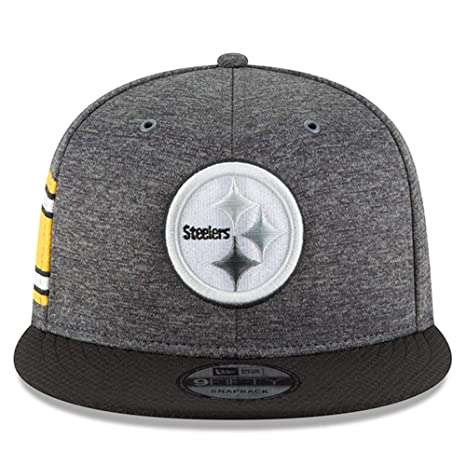 c688cb3293bd06 Amazon.com : New Era Pittsburgh Steelers 2018 Sideline Onfield NFL ...