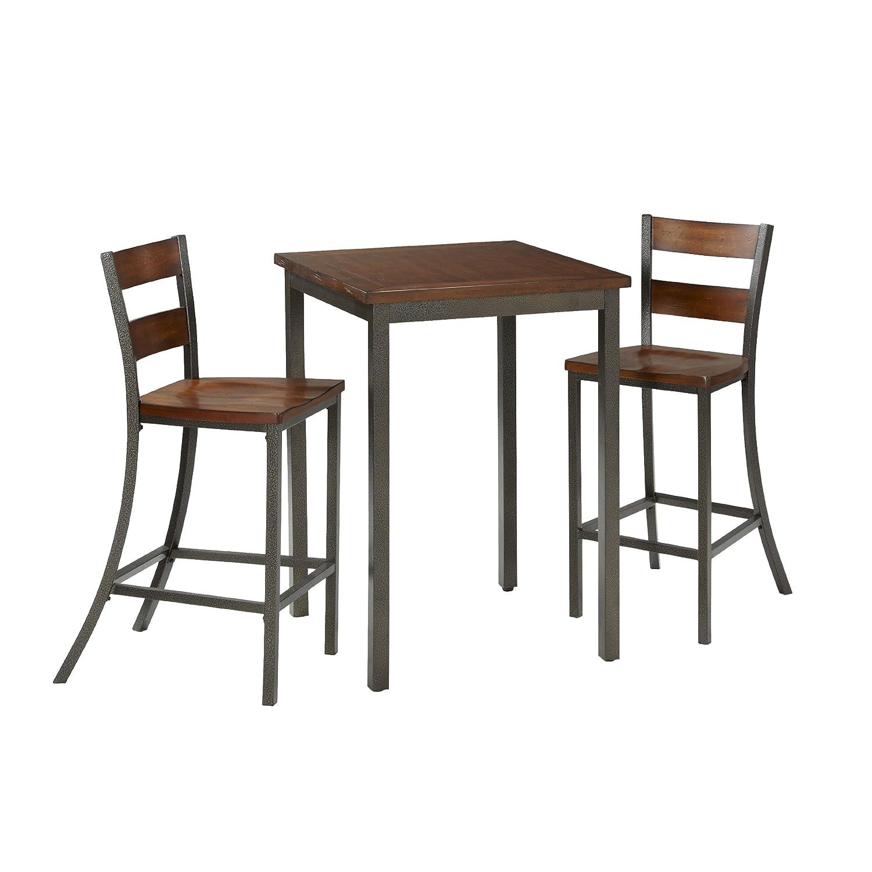 Amazon.com - Home Styles 5411-359 Cabin Creek 3-Piece Bistro Set - Table \u0026 Chair Sets  sc 1 st  Amazon.com & Amazon.com - Home Styles 5411-359 Cabin Creek 3-Piece Bistro Set ...