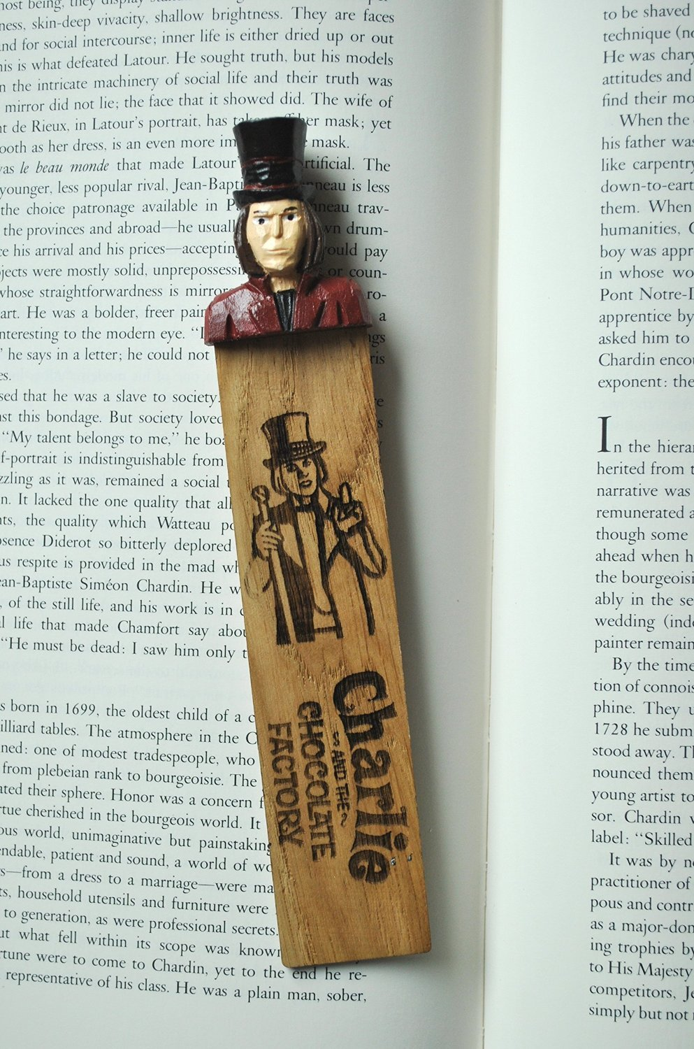 Amazon.com: Charlie and the Chocolate Factory Real Wooden ...