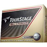 Bridgestone (BRIDGESTONE) Golf Ball TOURSTAGE Extra Distance 1 Dozen (12 Pieces) White TEWX