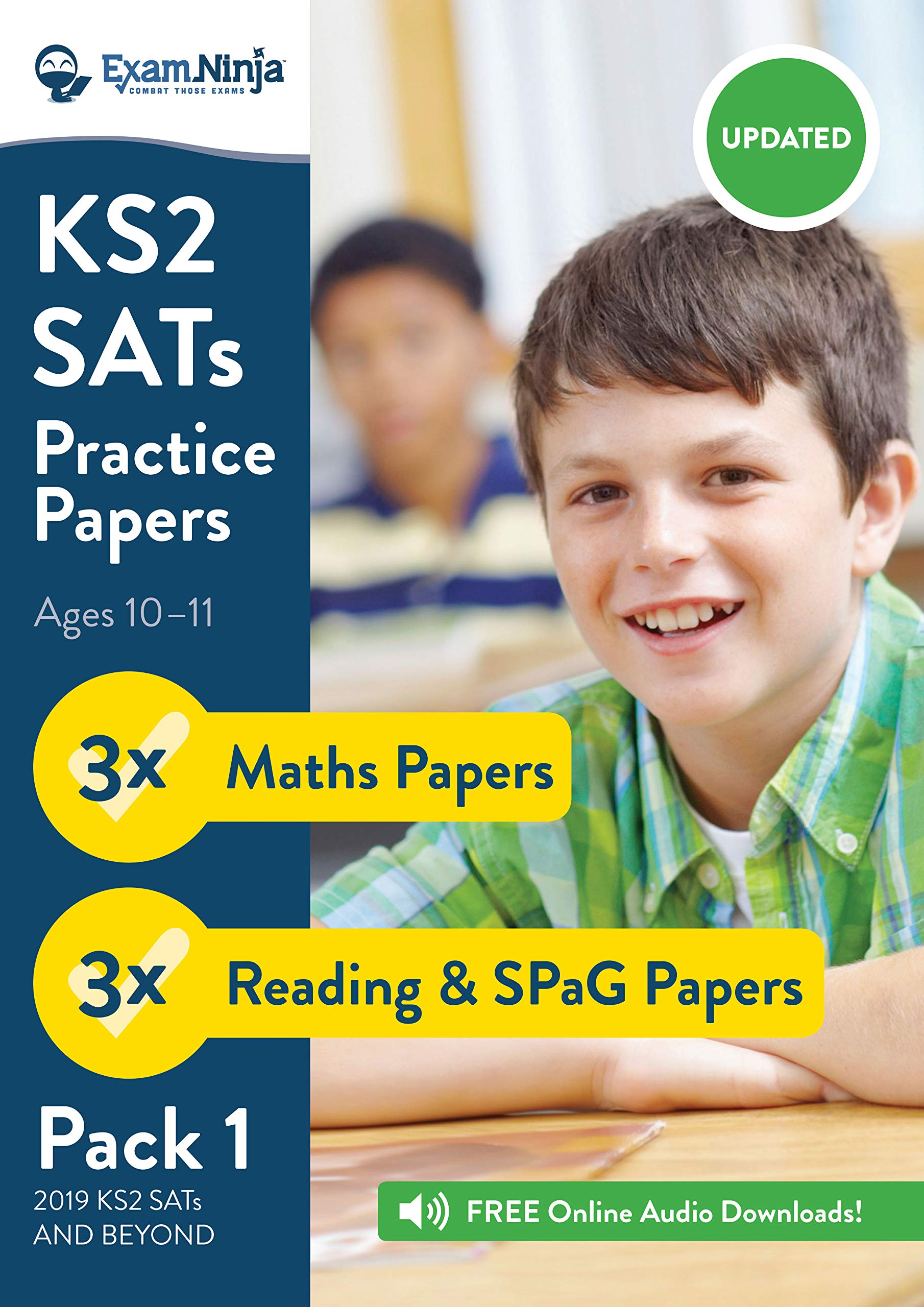 KS2 SATs Practice Papers - Pack 1 (English Reading, SPaG ...