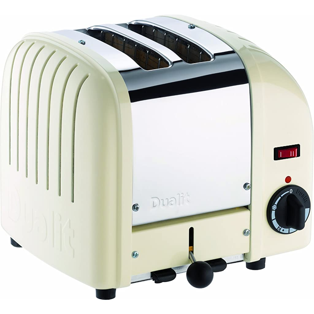 Dualit Classic 2 Slice Toaster in Canvas White
